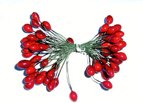 SALE! Red / Green Berries - Christmas Wreath Decoration