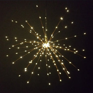 Hanging Starburst String Lights