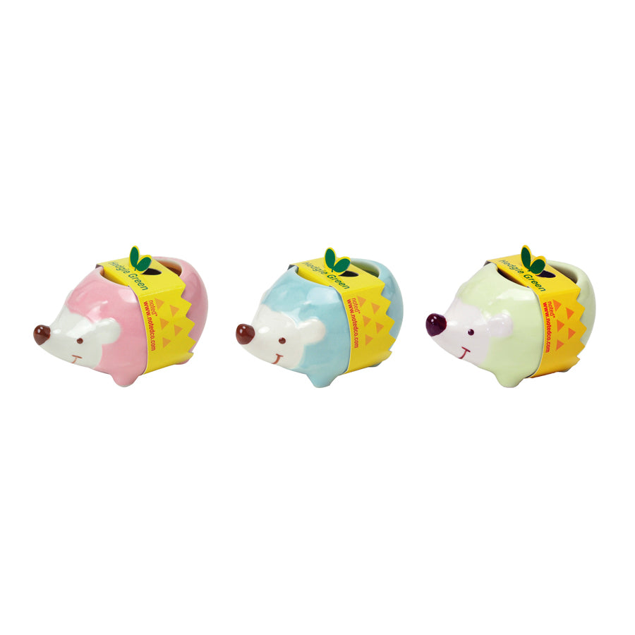 Hedgie Greens - Cute & Sweet - Set of All Three!
