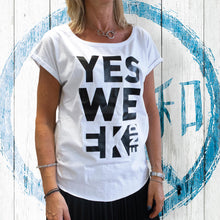 Carica l'immagine nel visualizzatore di Gallery, T-shirt Donna Yes Weekend - Gidesign