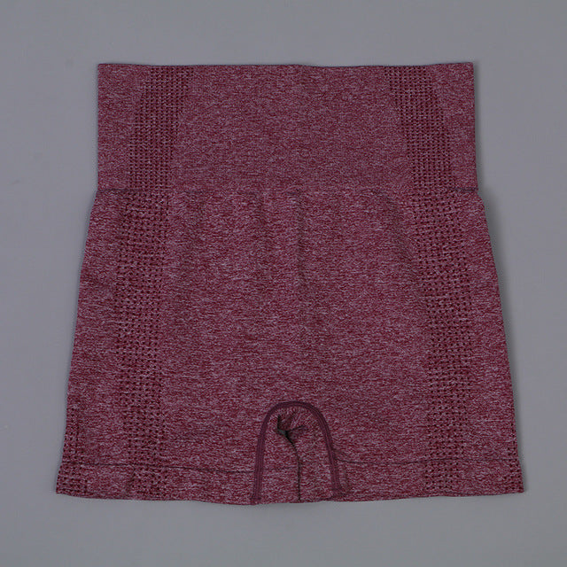 Contour Shorts - Wine Red