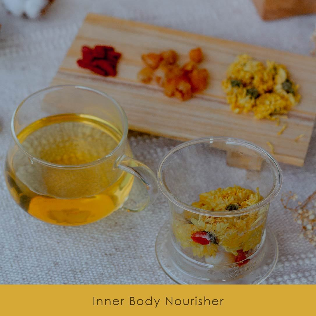 Chrysanthemum + Goji + Longan - Brewiss Tea