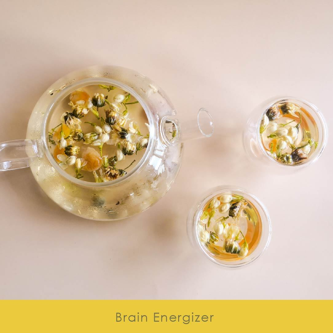 Chrysanthemum + Jasmine + Goji - Brewiss Tea