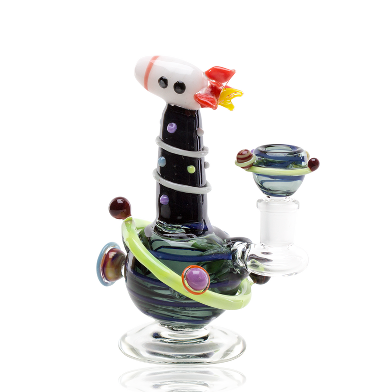 Empire Glassworks - Mini Rig - Rocket Ship