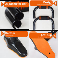 Load image into Gallery viewer, [Ready Stock]Premium Push Up Bar Pumping Gym Fitness
