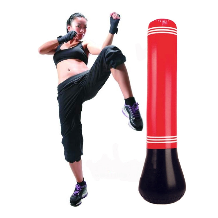 1.5m Standing Adult Kids Boxing Stress Punching Bag with Pump