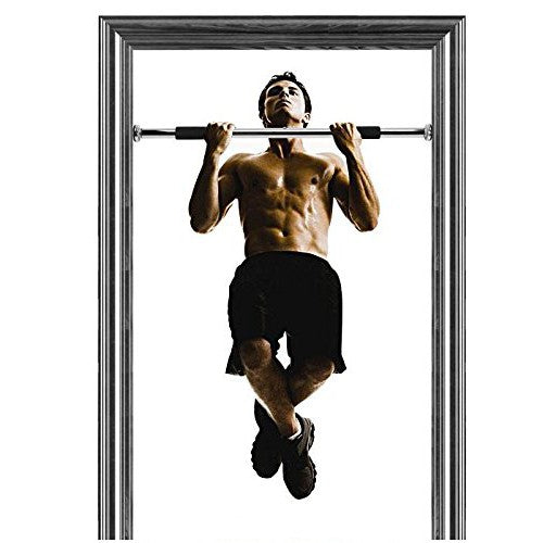 Door Way Pull Chin Up Bar Indoor Fitness Workout (62-100cm)