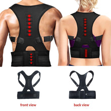 Load image into Gallery viewer, [Ready Stock]Magnetic Shoulder Belt Spine Support Back Braces For Pain Posture Corrector