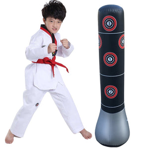 [Ready Stock]1.5m Standing Adult Kids Boxing Stress Punching Bag with Pump
