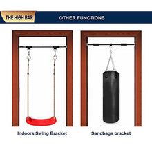 Load image into Gallery viewer, Door Way Pull Chin Up Bar Indoor Fitness Workout (62-100cm)