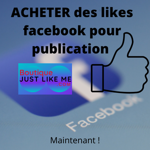 Acheter des like photo facebook