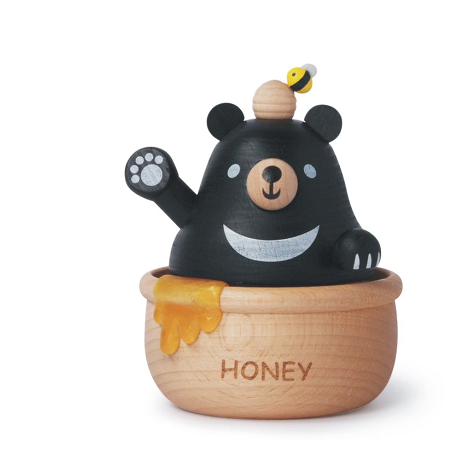 Cajita Musical Wooderful life- Honey Black Bear