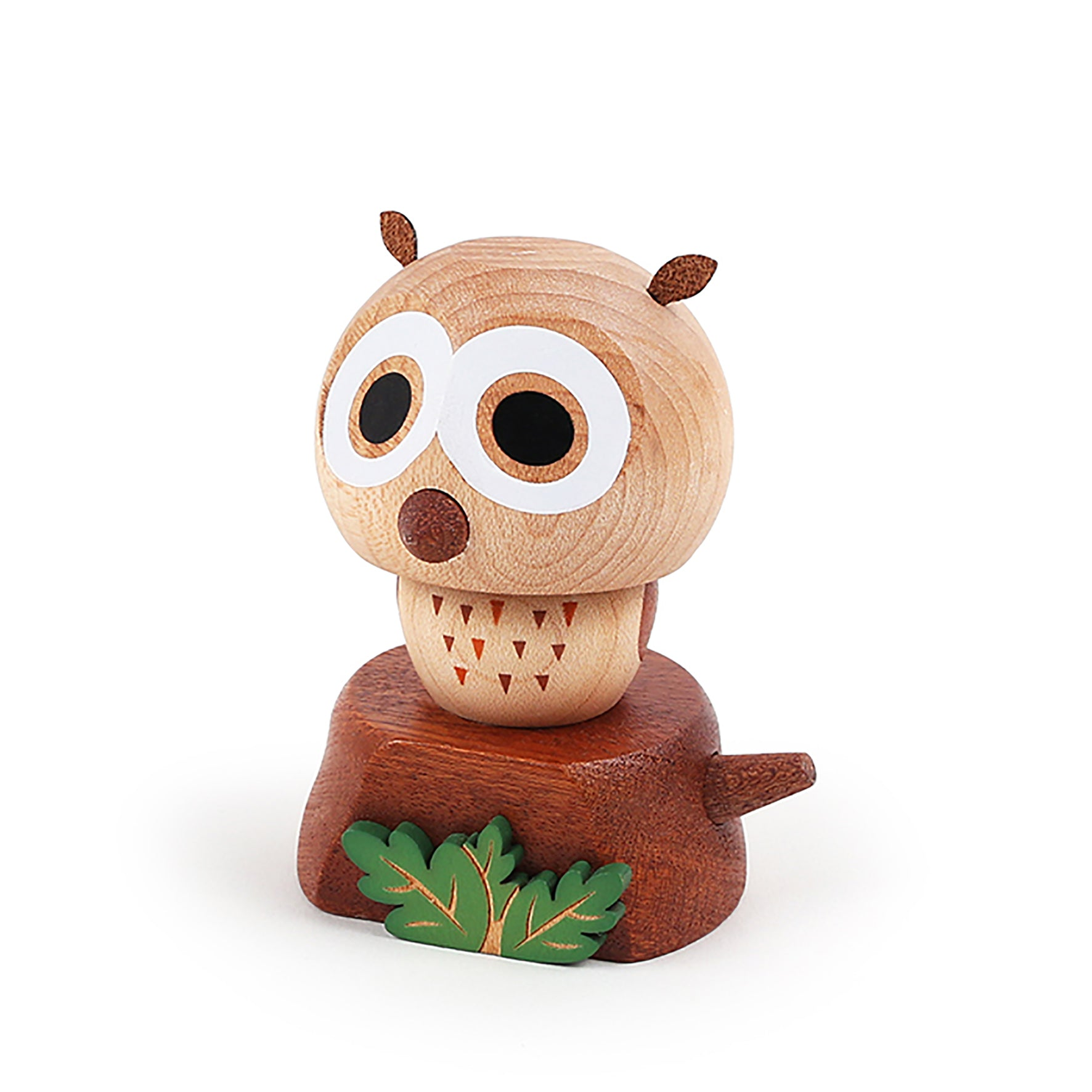 DECO Wooderful life– Bobbler Owl Spring Decorations