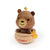 DECO Wooderful life– Bobbler Honey Bear Spring Decorations
