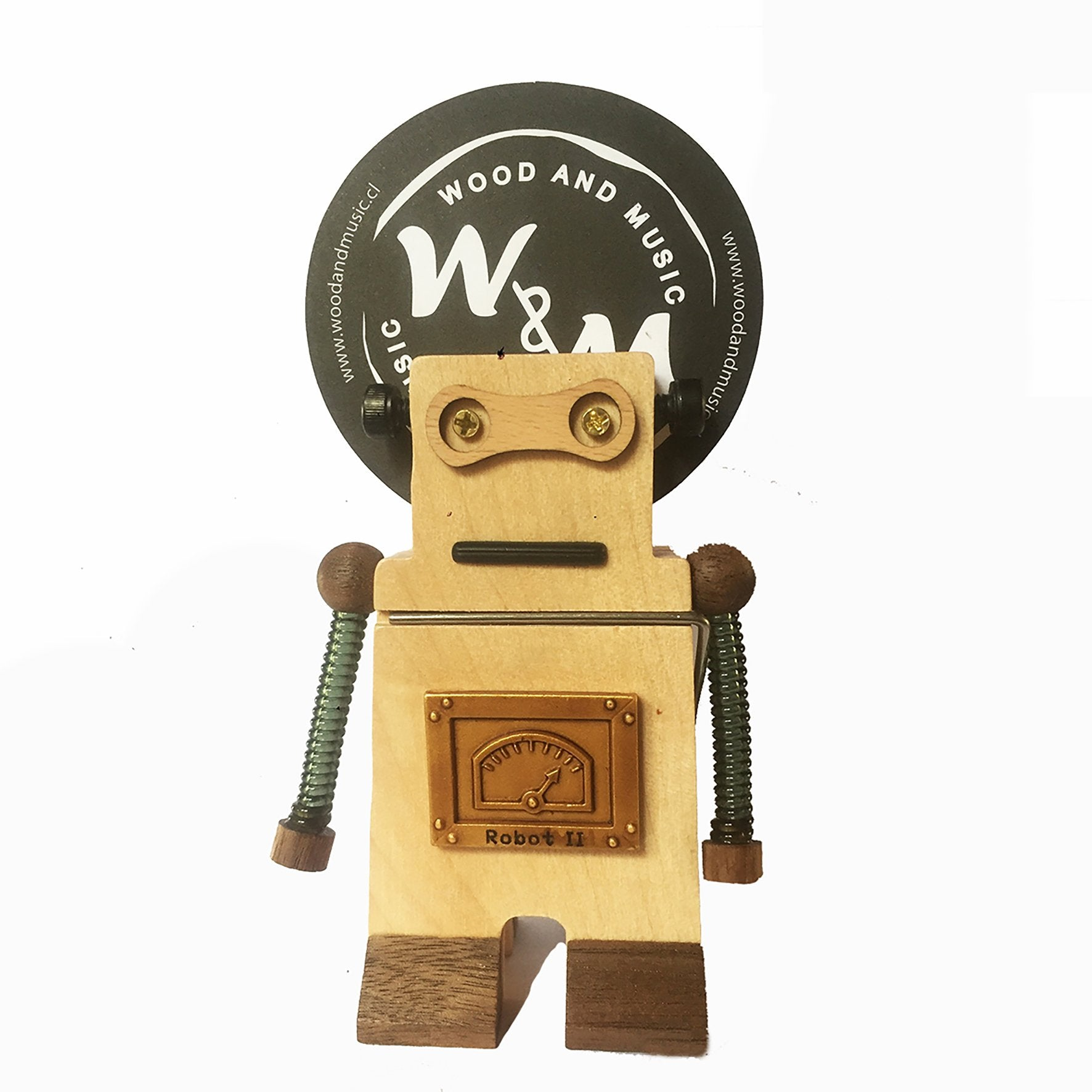 DECO Wooderful Life - Clip Robot Light