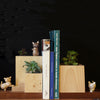 DECO Wooderful Life - Apoya Libros Mini Macetero Gatos