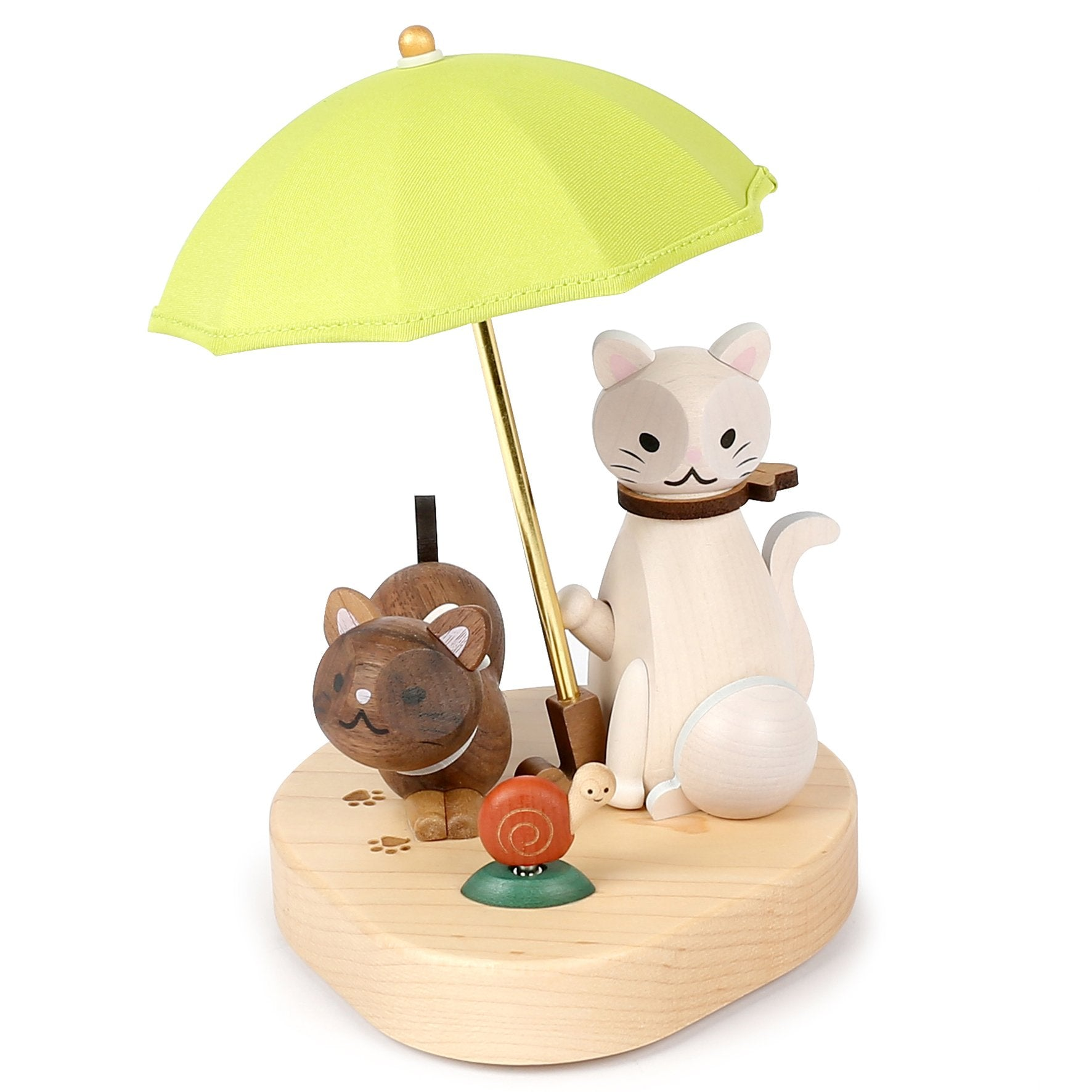 DECO Wooderful Life - Lámpara Led Decorativa Cat Umbrella
