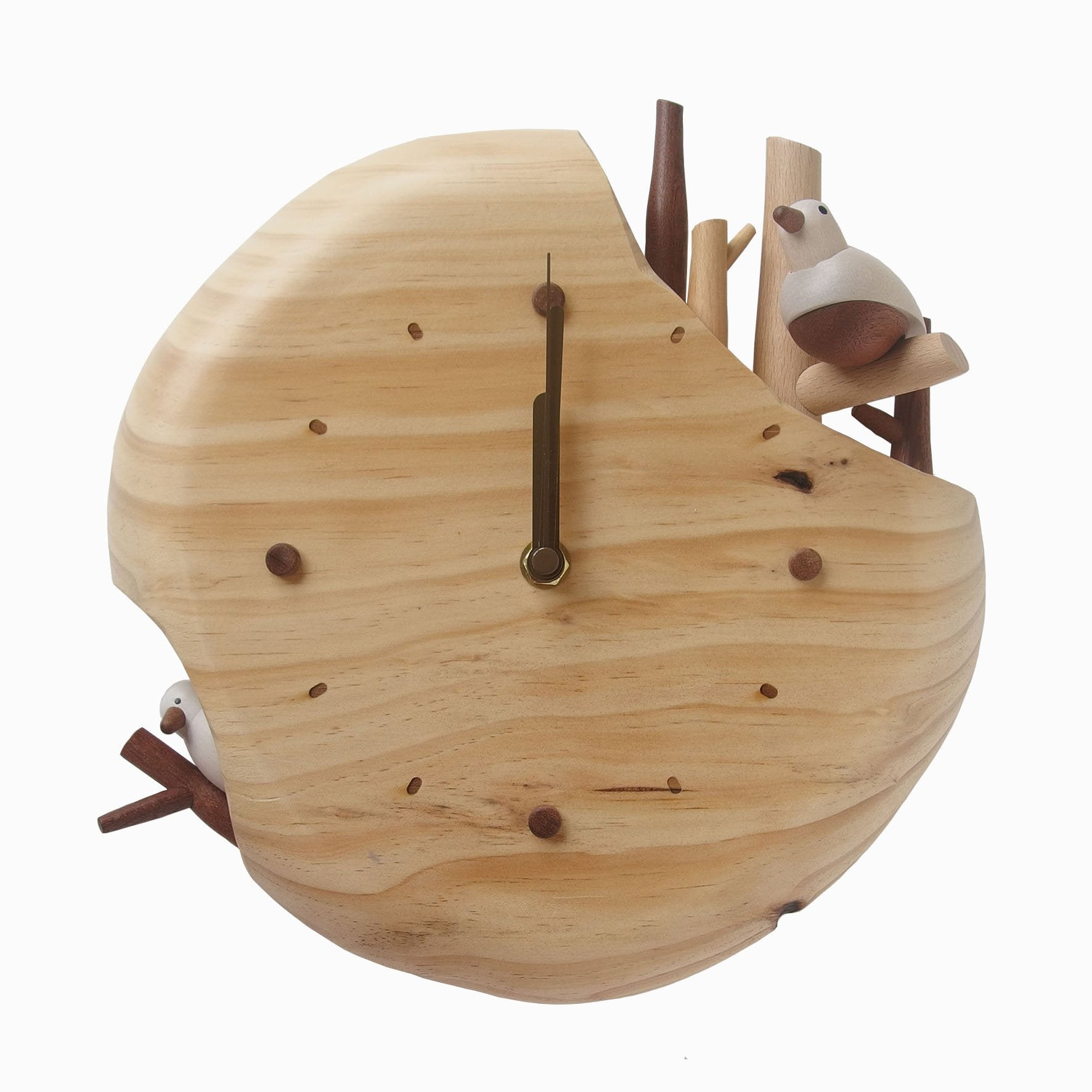 DECO Wooderful Life - Reloj de Pared Pájaros