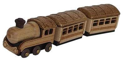 Figura DIY Wooderful life- Steam train (tren a vapor)