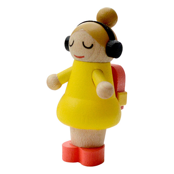 Figura DIY Wooderful life - School bag girl