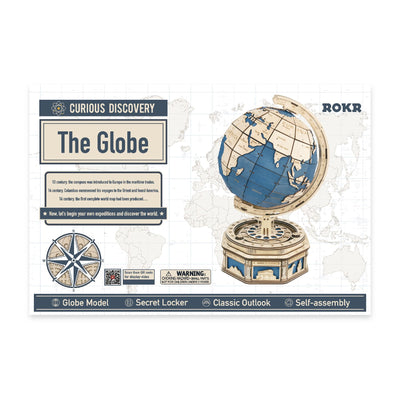 Puzzle 3D madera Robotime –  The Globe