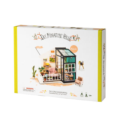 Puzzle 3D Robotime miniatura – Balcony Daydreaming