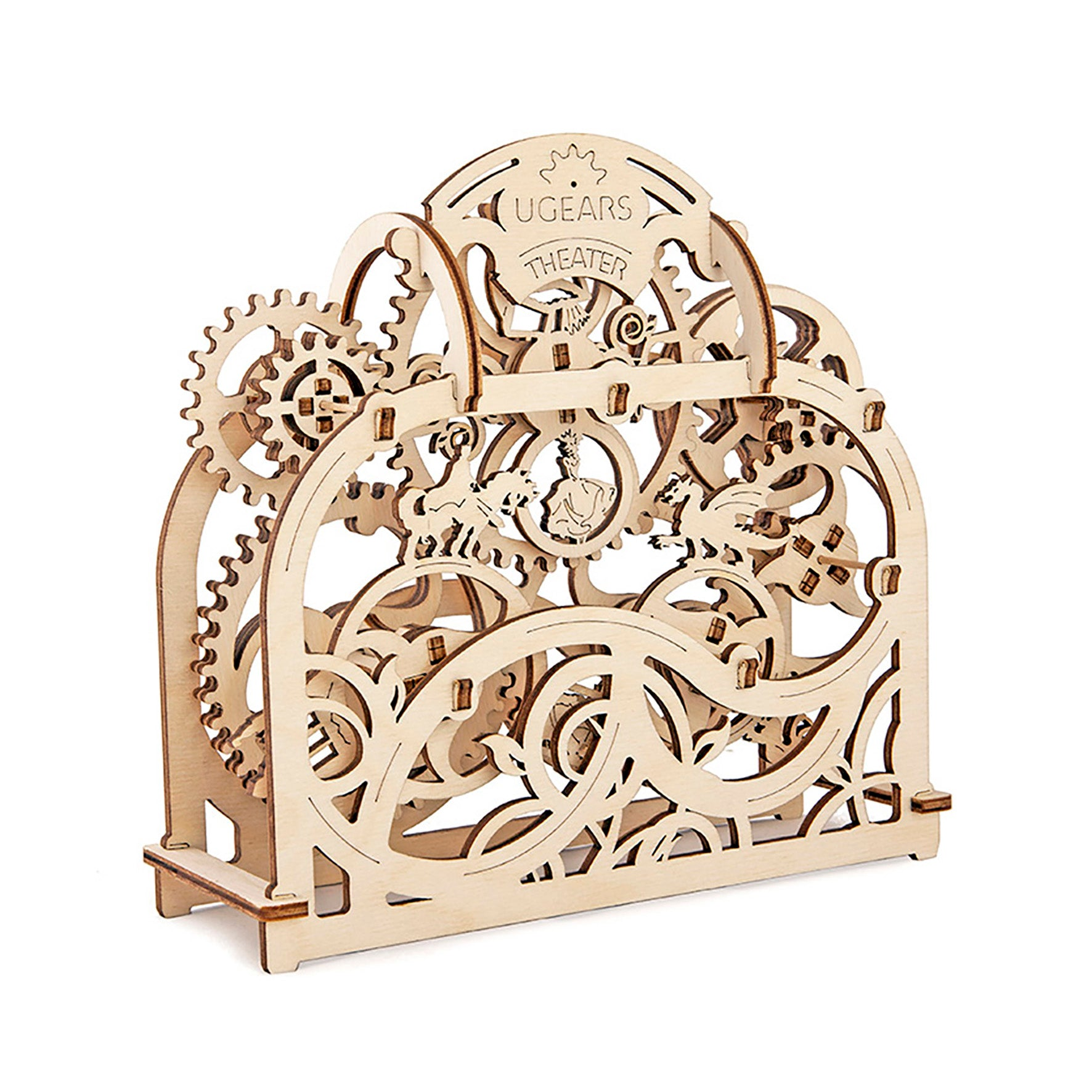 Puzzle 3D madera Ugears  - Teatro