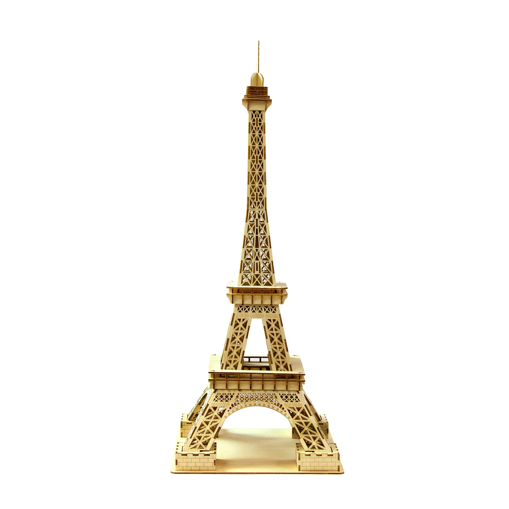 Puzzle 3D madera Jigzle – Eiffel Tower large