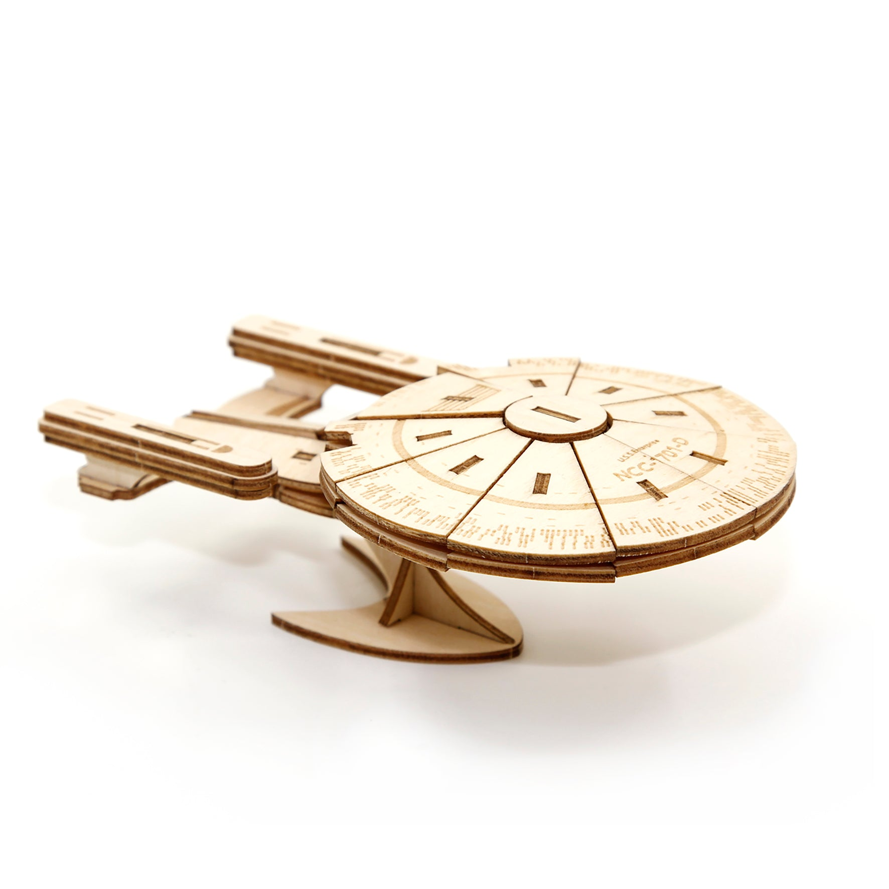 Puzzle 3D madera Incredibuilds Star Trek – Enterprise New Generation