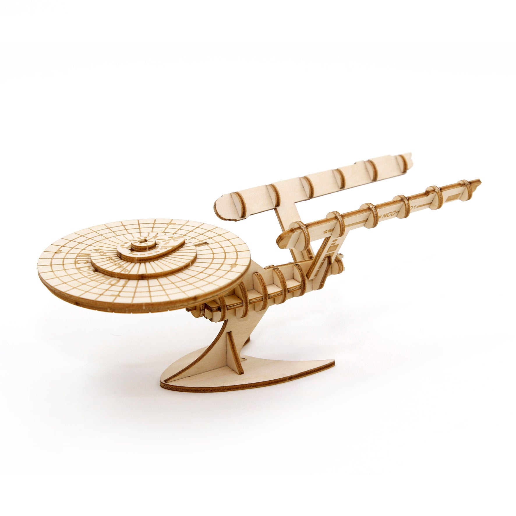 Puzzle 3D madera Incredibuilds Star Trek – U.S.S. Enterprise
