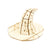 Puzzle 3D madera Incredibuilds Harry Potter – Sorting Hat