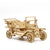 Puzzle 3D madera Jigzle – Classic Car Smartphone Stand
