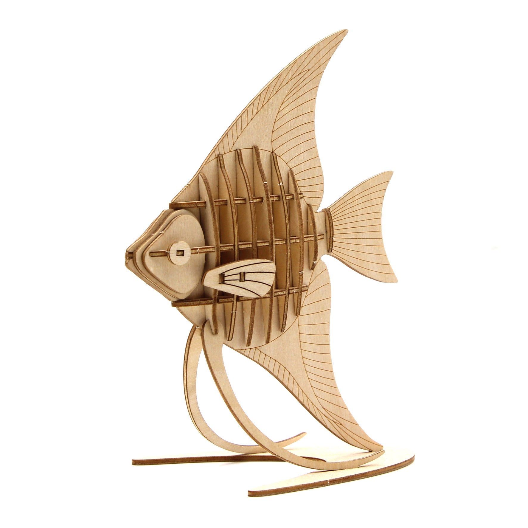 Puzzle 3D madera Jigzle – Angelfish