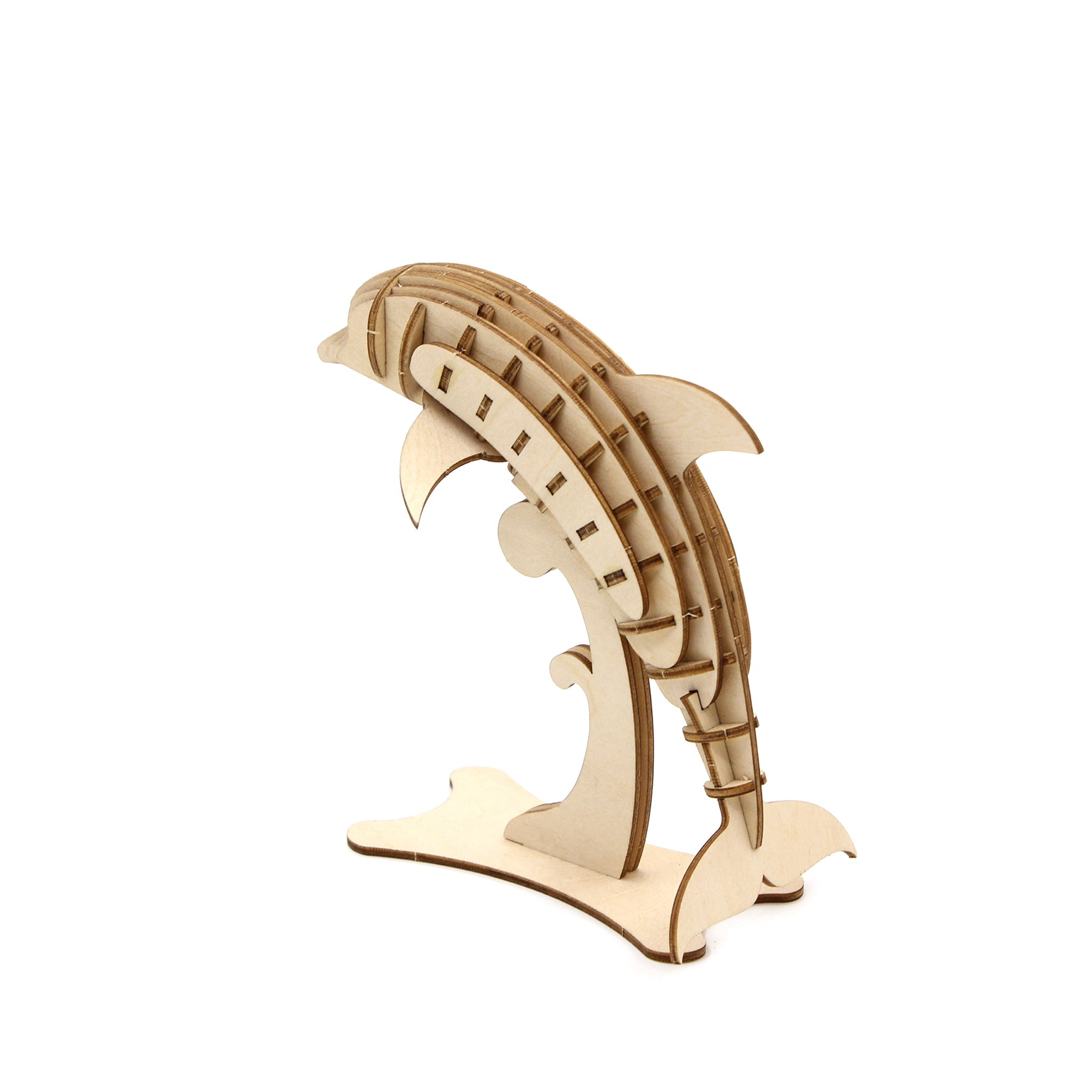Puzzle 3D madera Jigzle – Dolphin