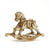 Puzzle 3D madera Jigzle – Rocking horse