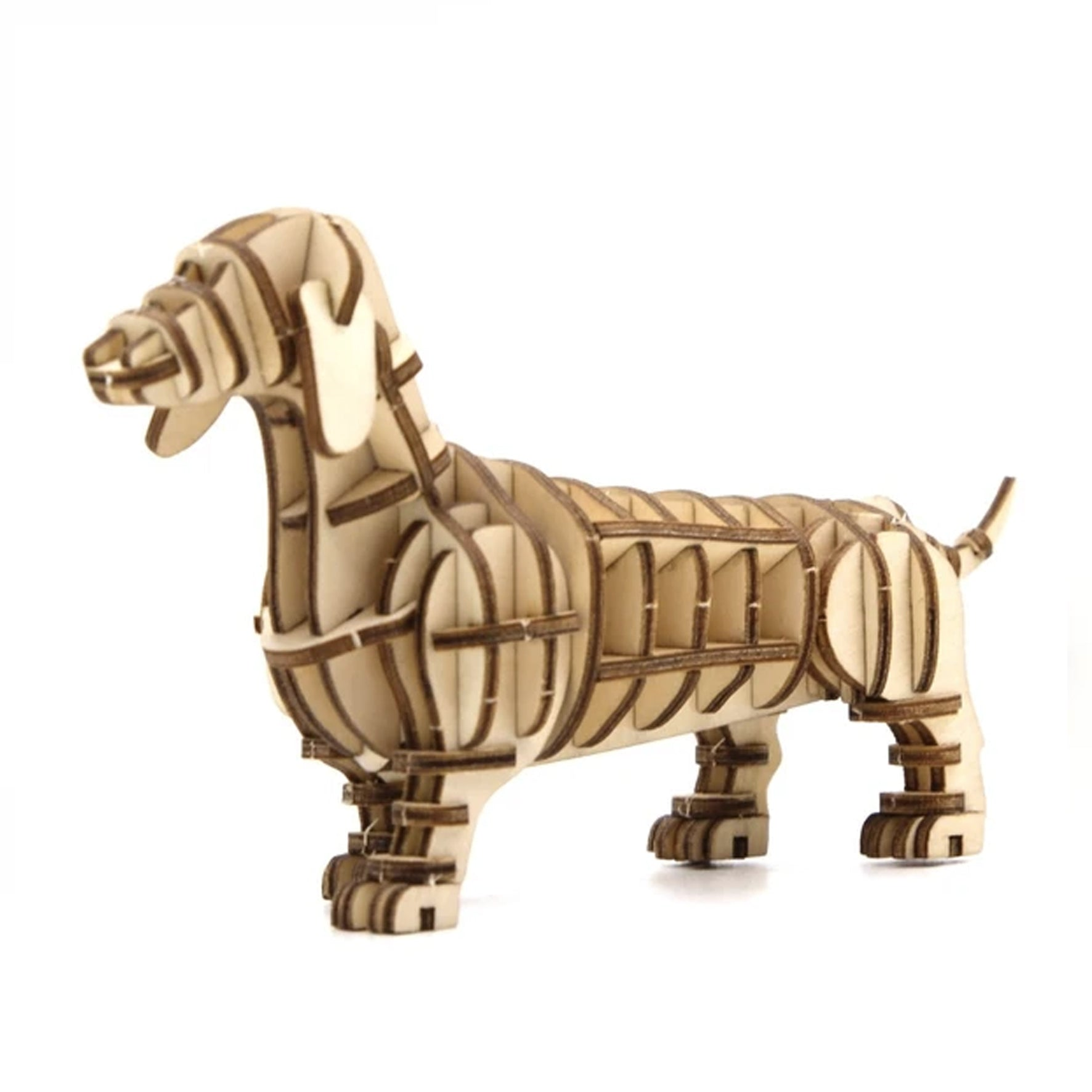 Puzzle 3D madera Jigzle – Dachshund