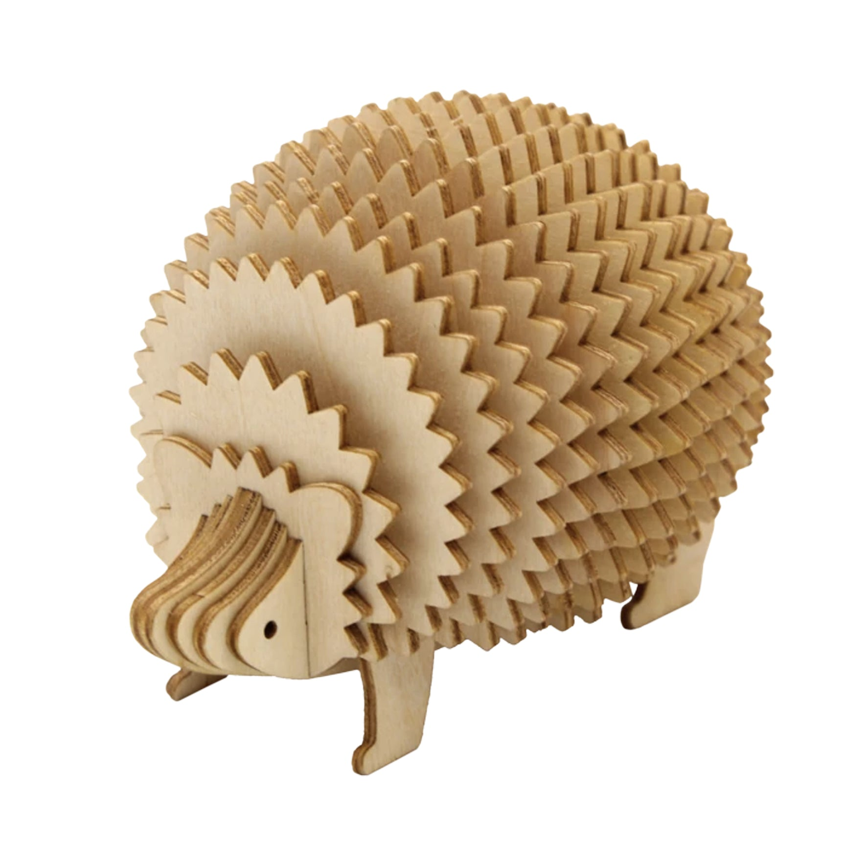 Puzzle 3D madera Jigzle – Hedgegog Memo stand