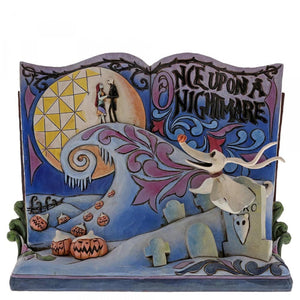 Disney Enesco Jim Shore Traditions Storybook 4057953 Nightmare before Christmas