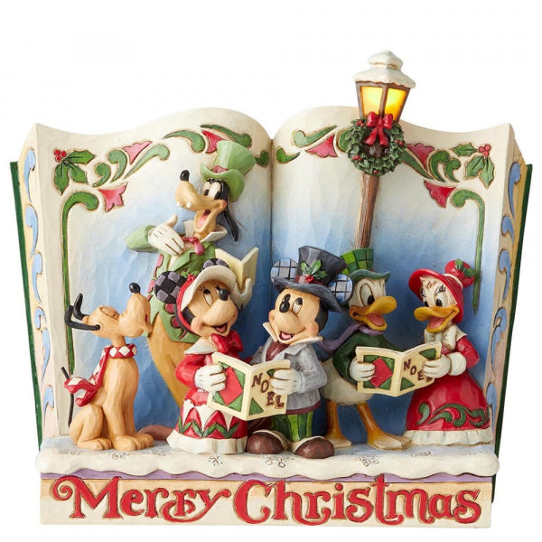 Disney Enesco Jim Shore Traditions Storybook Merry Christmas 6002840
