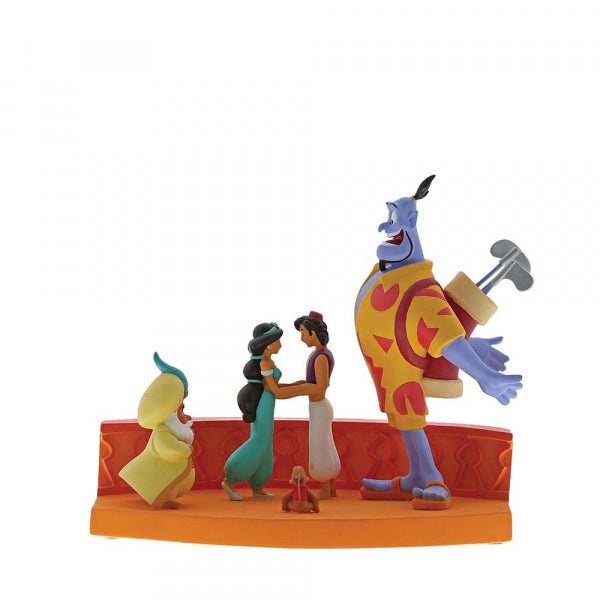 Disney Enesco Enchanting Aladdin Szene A29367 I'm Out of Here