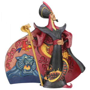 Disney Enesco Jim Shore Traditions Jafar aus Aladdin Villainous Viper 6005968