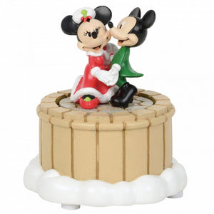 Disney Enesco Village by D56 Mickey & Minie Mouse tanzend