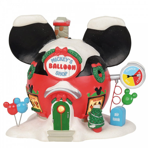 Disney Enesco Village by D56 Mickey`s Lufballon Shop