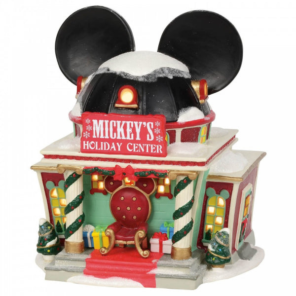 Disney Enesco Village by D56 Mickey`s Urlaubs Center Holiday