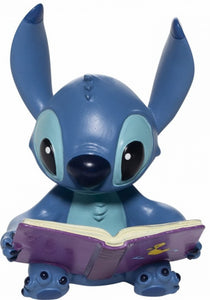 Disney Enesco Showcase Stitch mit Buch Figur 6006207