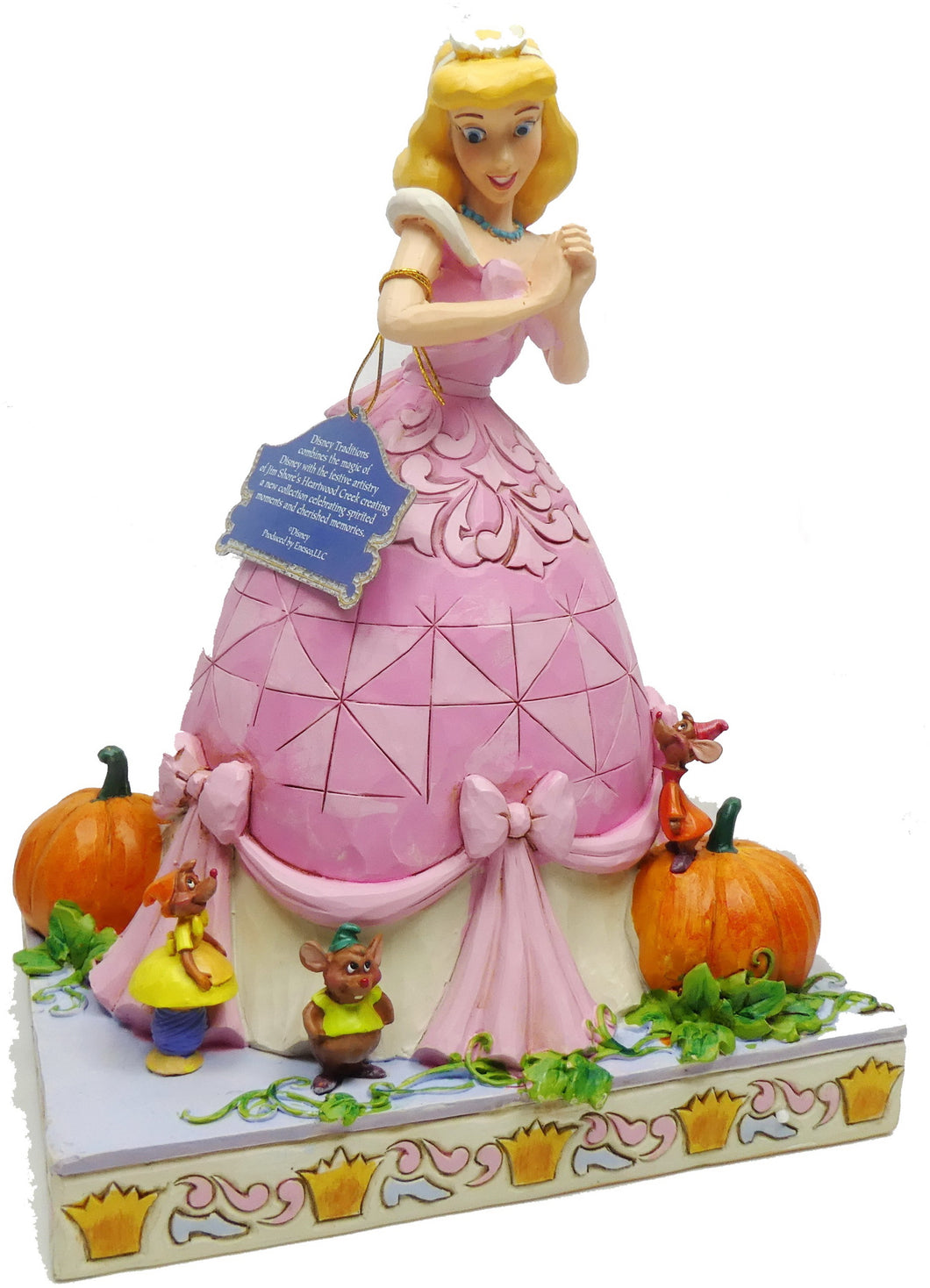 Disney Traditions Jim Shore 4062249 Darling Dreamer Cinderella pink Event Figur