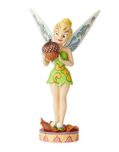 Disney Enesco Traditions Jim Shore 6002826 Tinker Bell Nuts for all Nüsse für alle