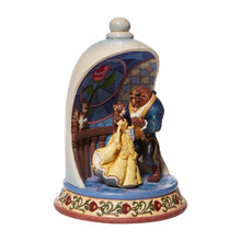 Laden Sie das Bild in den Galerie-Viewer, Disney Enesco Traditions Jim Shore : 6008995 Beuaty and the Beast Glocke Diorama