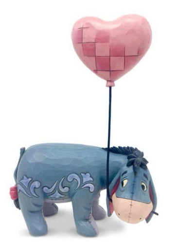 Disney Enesco Jim Shore Traditions 600595 eeyore iiaH von winnie Pooh mit Herzballon