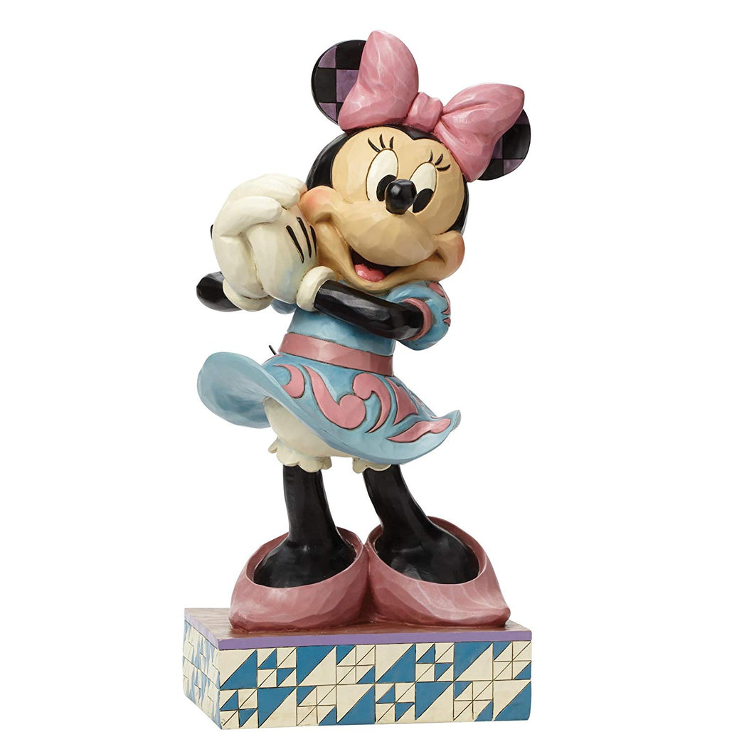 Disney Enesco Jim Shore Traditions 4045250 Minnie Mouse Statement All Smiles